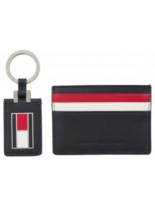 Tommy Hilfiger Men s Set of Document and Keychains Corporate CC Holder 93e1269752f