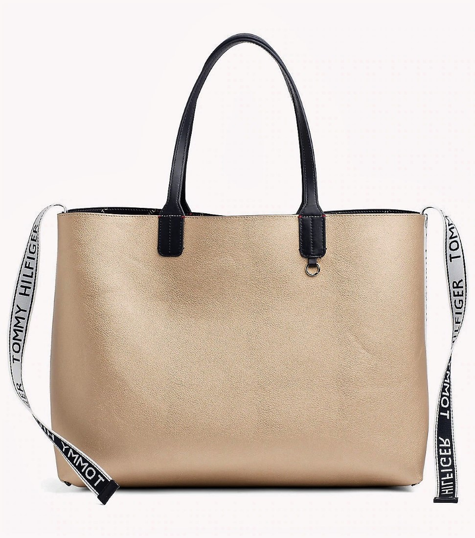 Tommy Hilfiger double-sided Iconic Tommy Tote handbag - Women s ... f2fc326b583