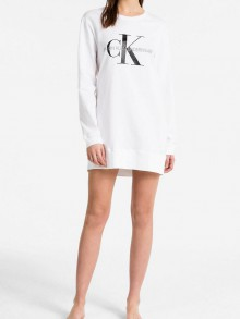 Calvin Klein white homemade dress with CK logo - Women's