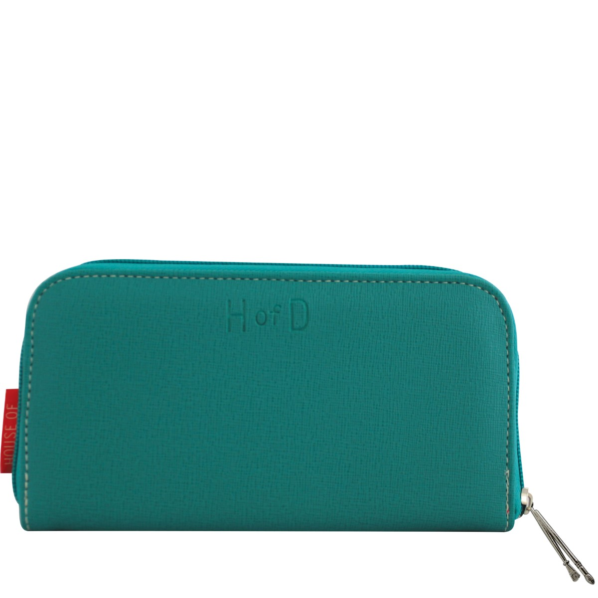 Disaster turquoise wallet Color Me Peacock