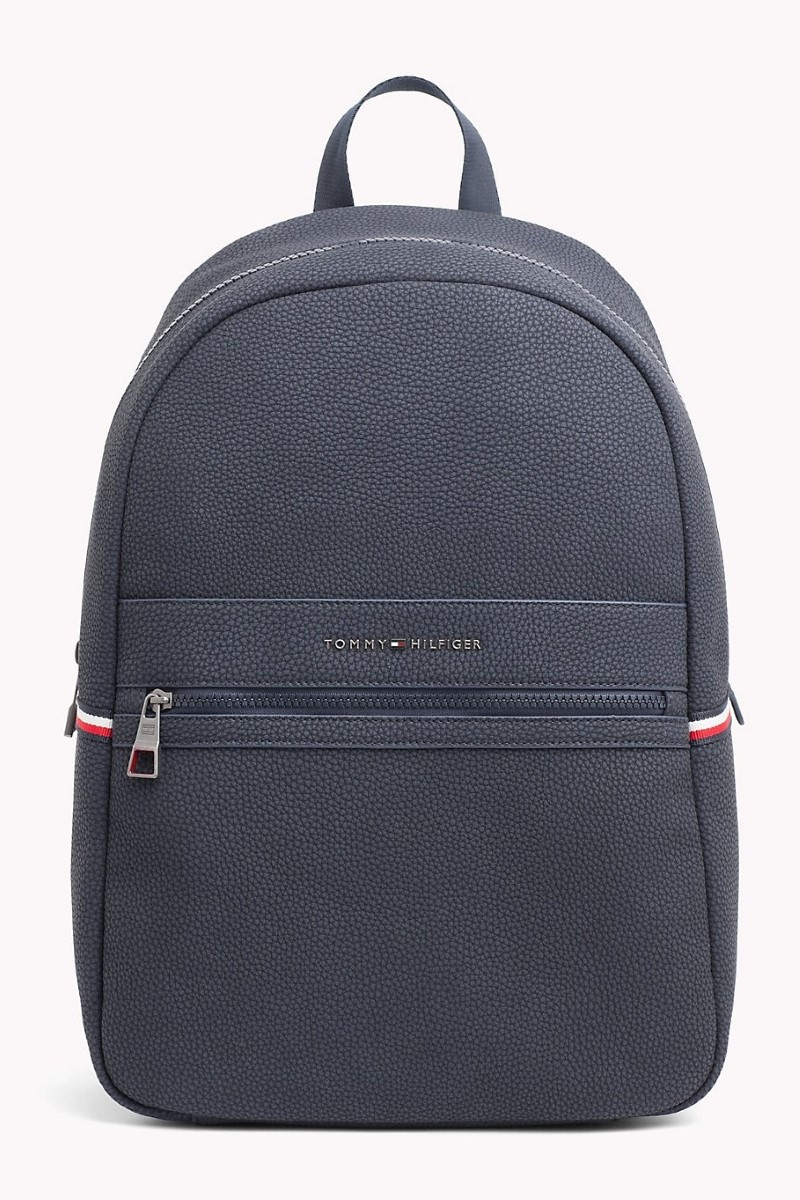 a05e8969 Tommy Hilfiger blue unisex backpack Essential Backpack - Women's ...