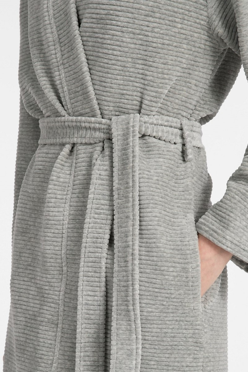 Calvin Klein Grey Bathrobe Robe Women