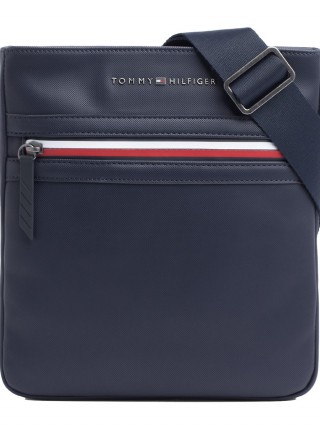 Tommy Hilfiger blue crossbody unisex bag Essential Crossover Pique Tommy  Navy c8a4c9e3c78