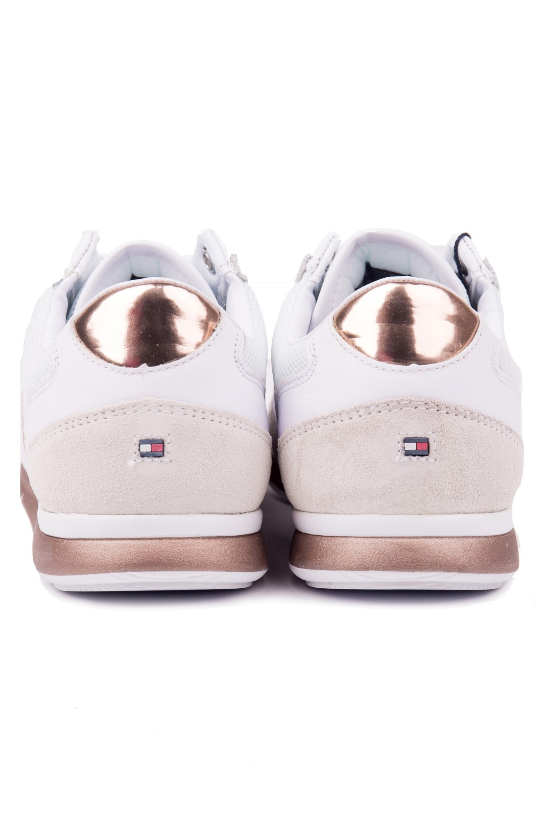 Tommy Hilfiger white leather sneakers