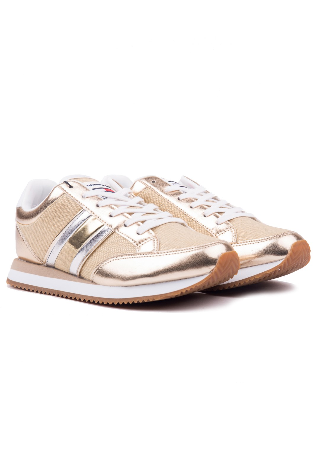 Tommy Hilfiger gold sneakers WMN Casual