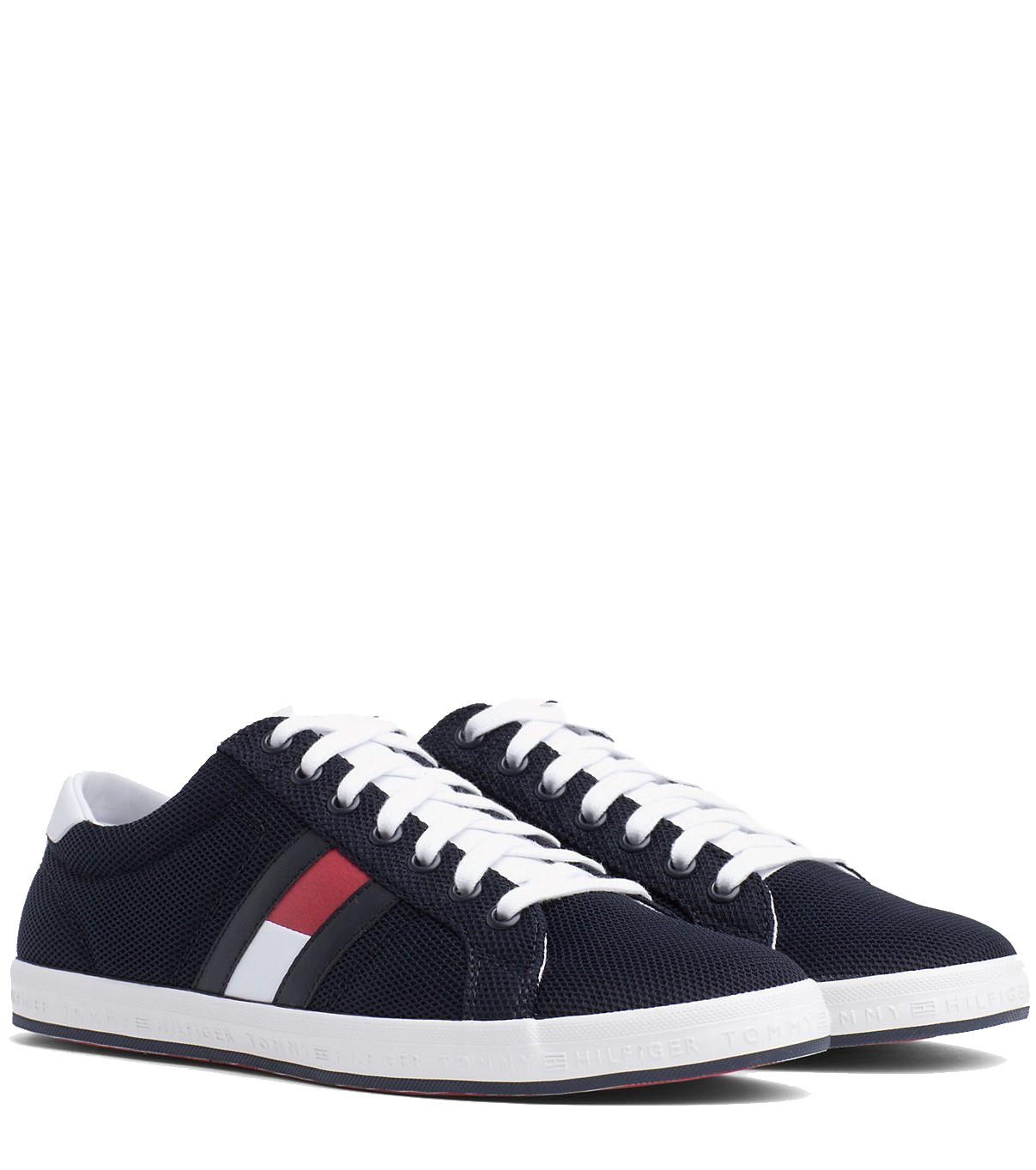 34e06f8f064b Tommy Hilfiger blue men´s sneakers Essential Flag Detail Sneaker Midnight