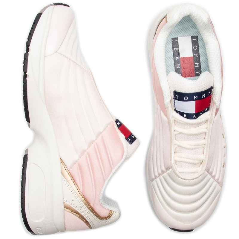 Tommy Hilfiger pink sneakers with