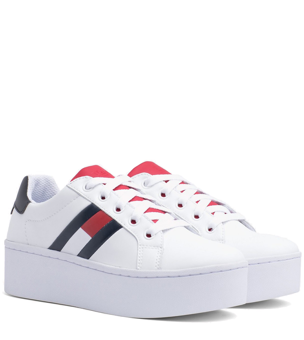 Tommy Hilfiger white sneakers with