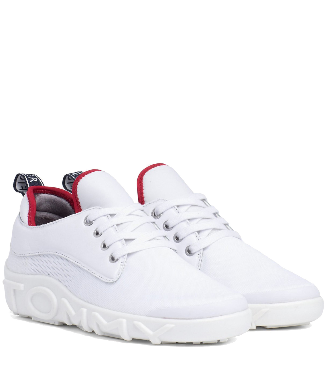 Tommy Hilfiger White Sneakers Knit