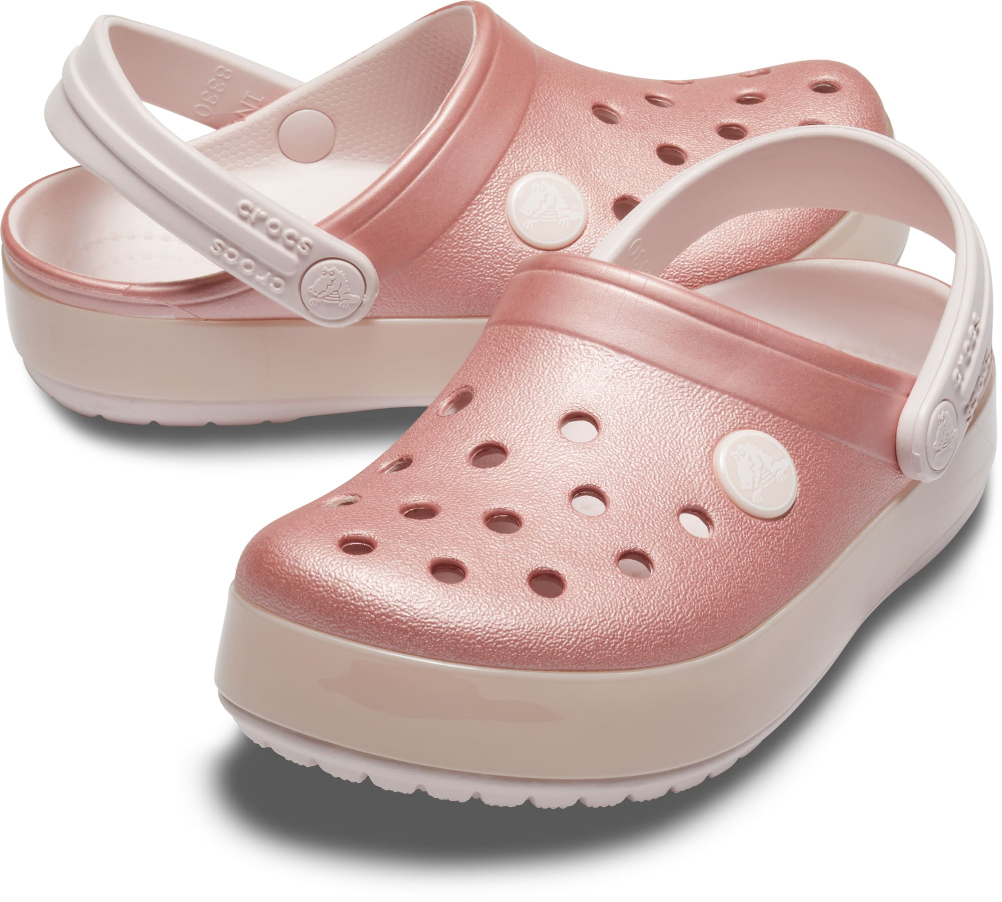 dobra tekstura super jakość super tanie Crocs pink girl´s shoes Crocband Ice Pop Clog Barely Pink