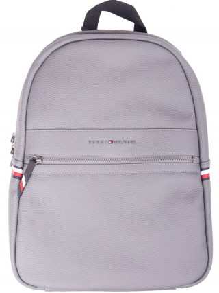 781d2761 Tommy Hilfiger grey unisex backpack Essential Backpack II Smoked Pearl