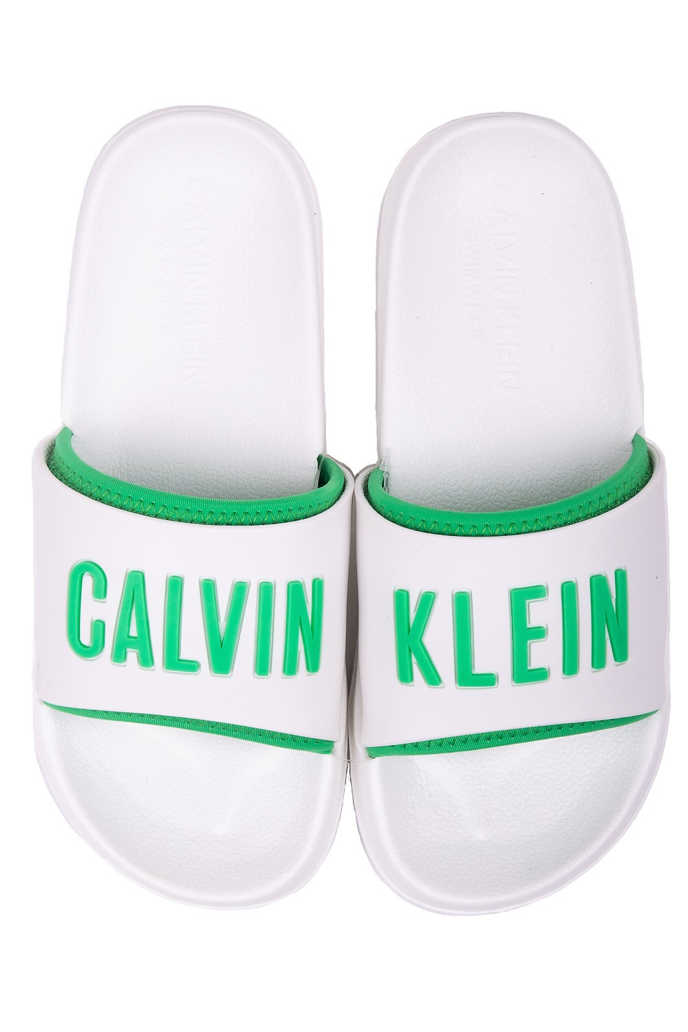 Calvin Klein white unisex slippers Slide White