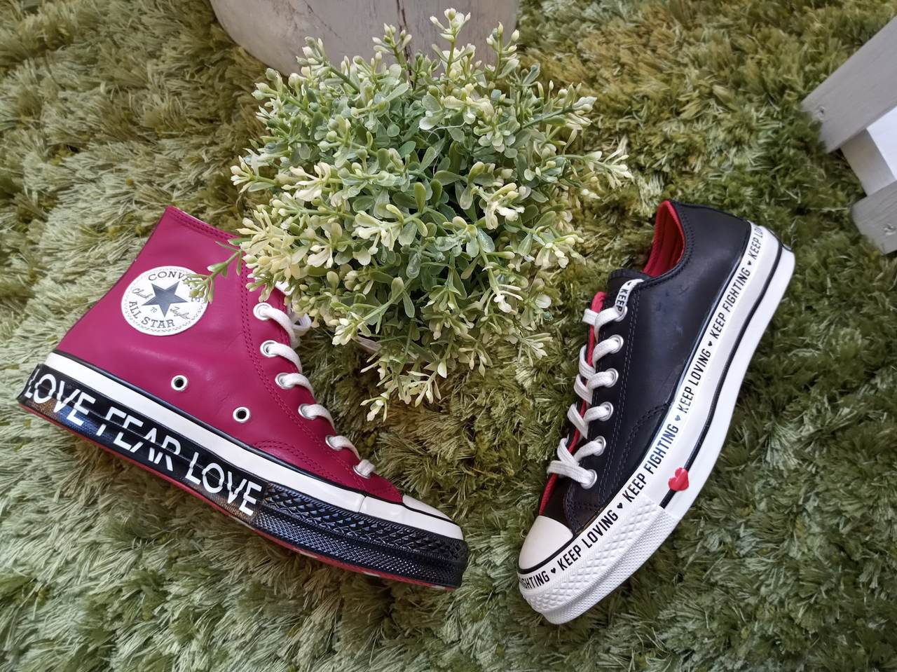 Heart Pants - Limited Converse Collection