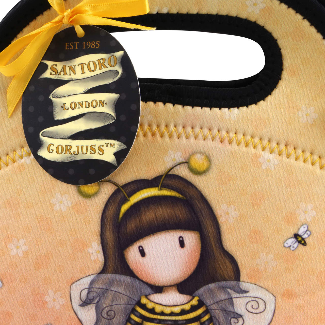 Santoro yellow bag Gorjuss Bee-Loved (Just Bee-Cause)