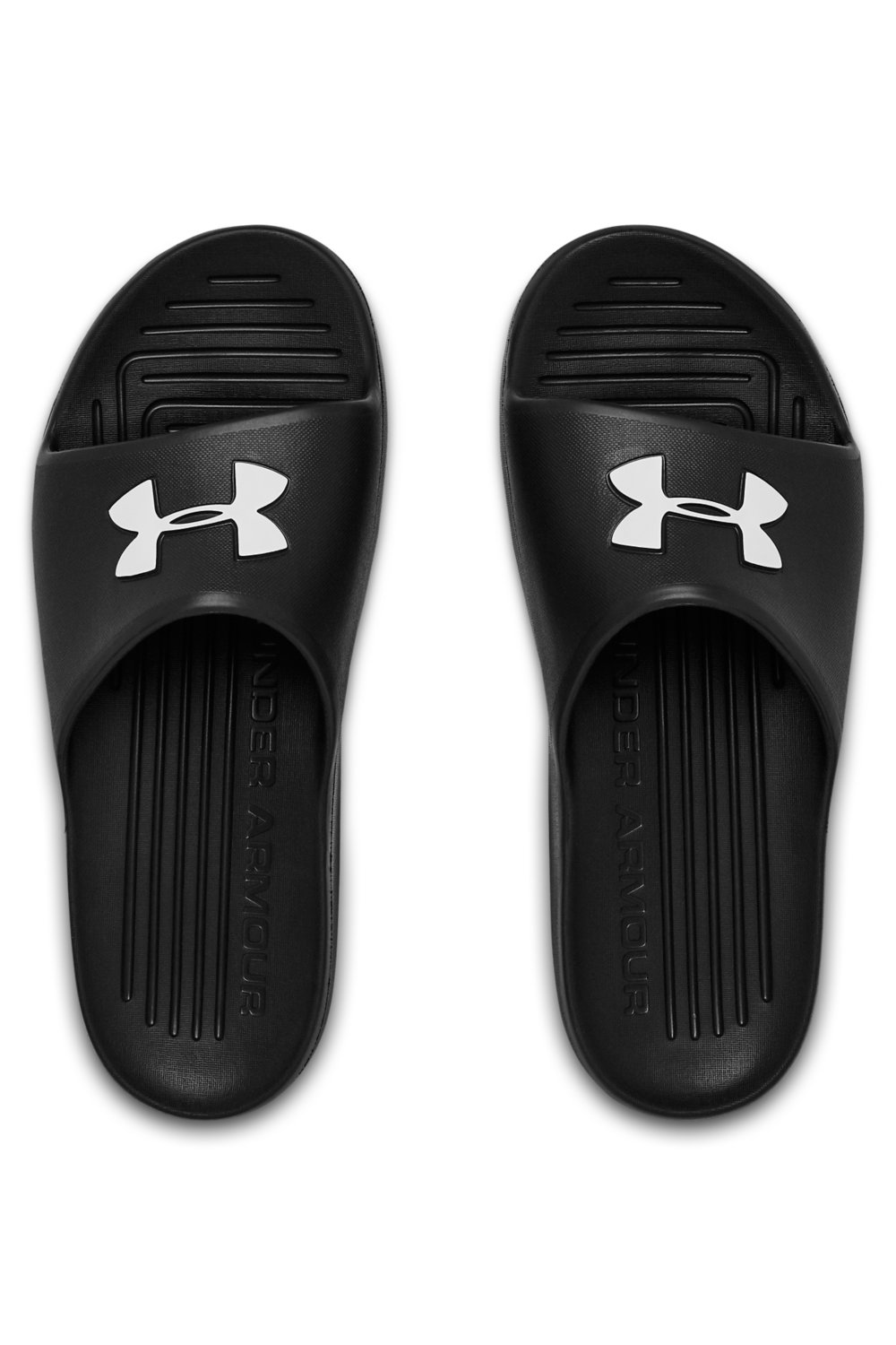 Under Armour black slippers Core Pth