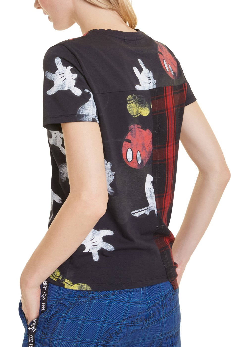 Black Desigual T Shirt Ts Micky Maus Women S T Shirts Tops Differenta Com