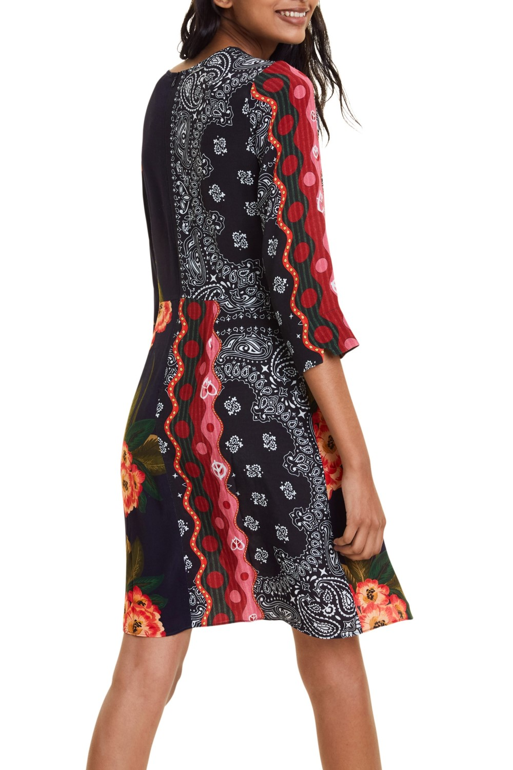 Desigual multicolor dress Vest Dana