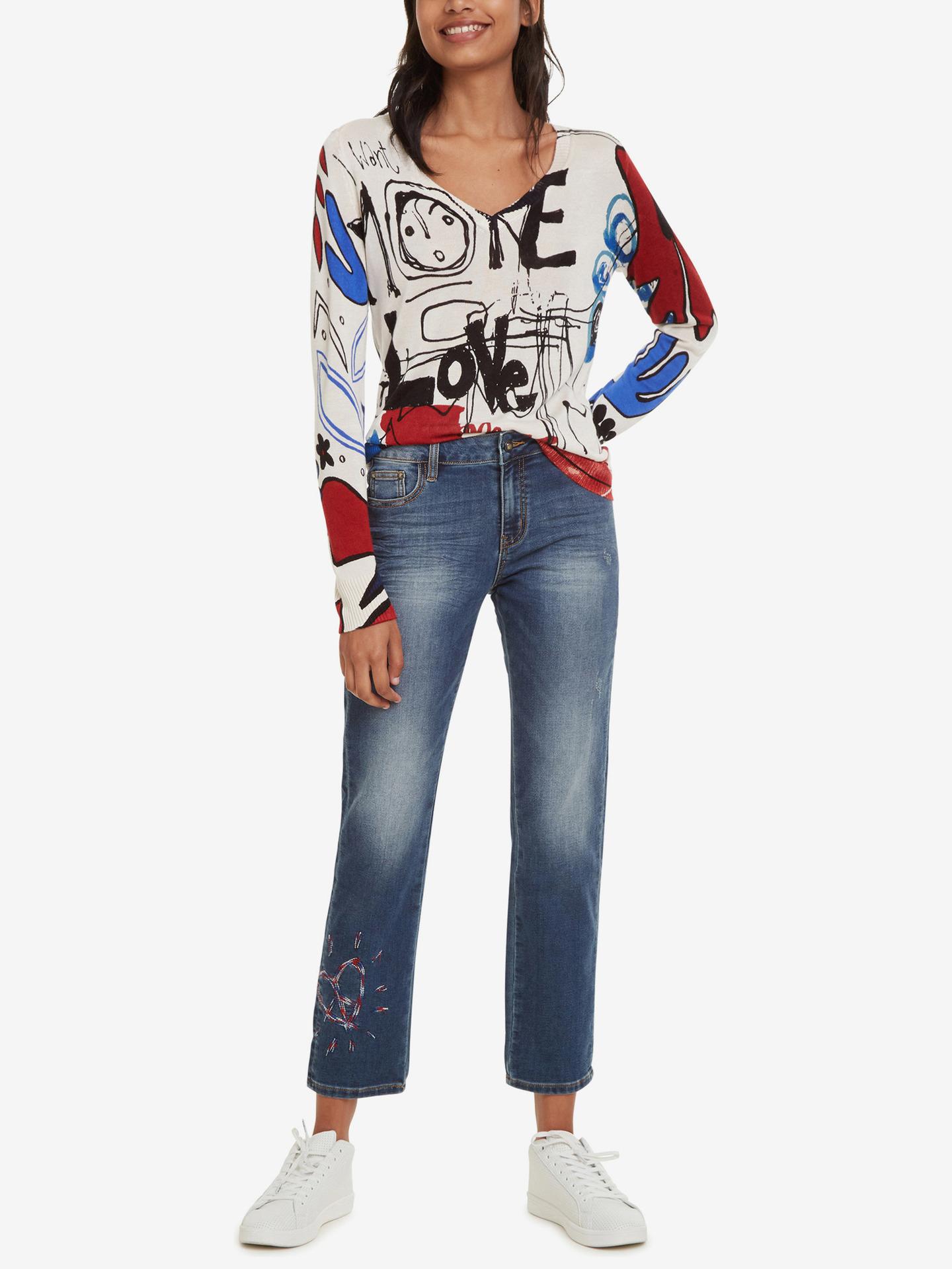 Desigual blue jeans Denim Sanford