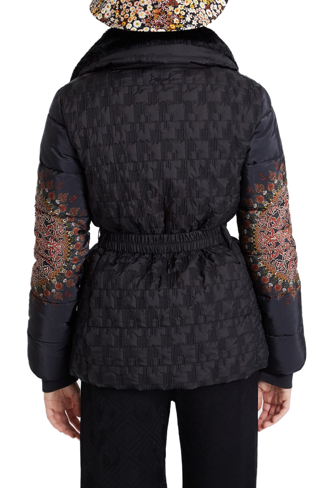 Desigual black jacket Padded Agu