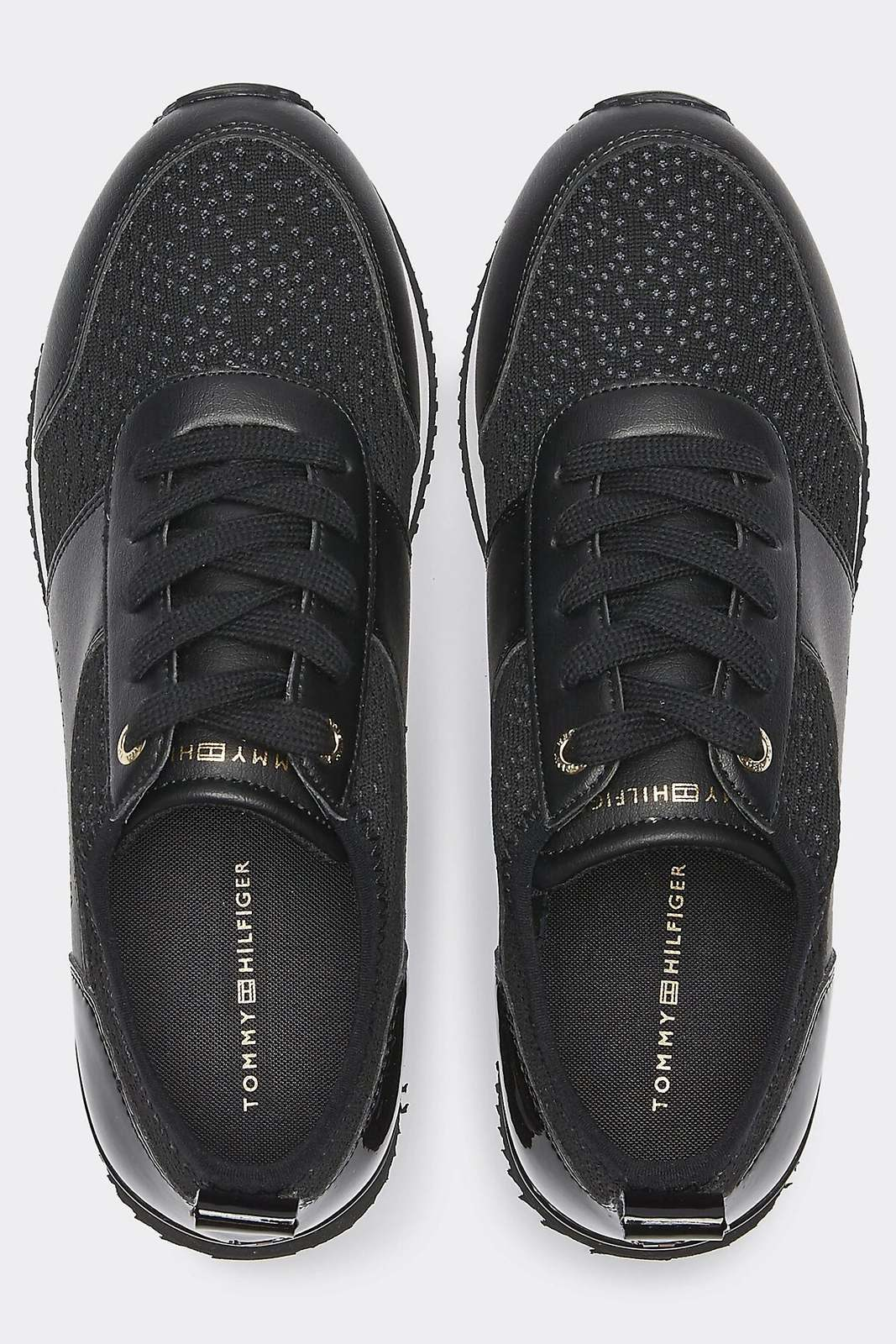Tommy Hilfiger black sneakers City Iconic Knitted Sneaker