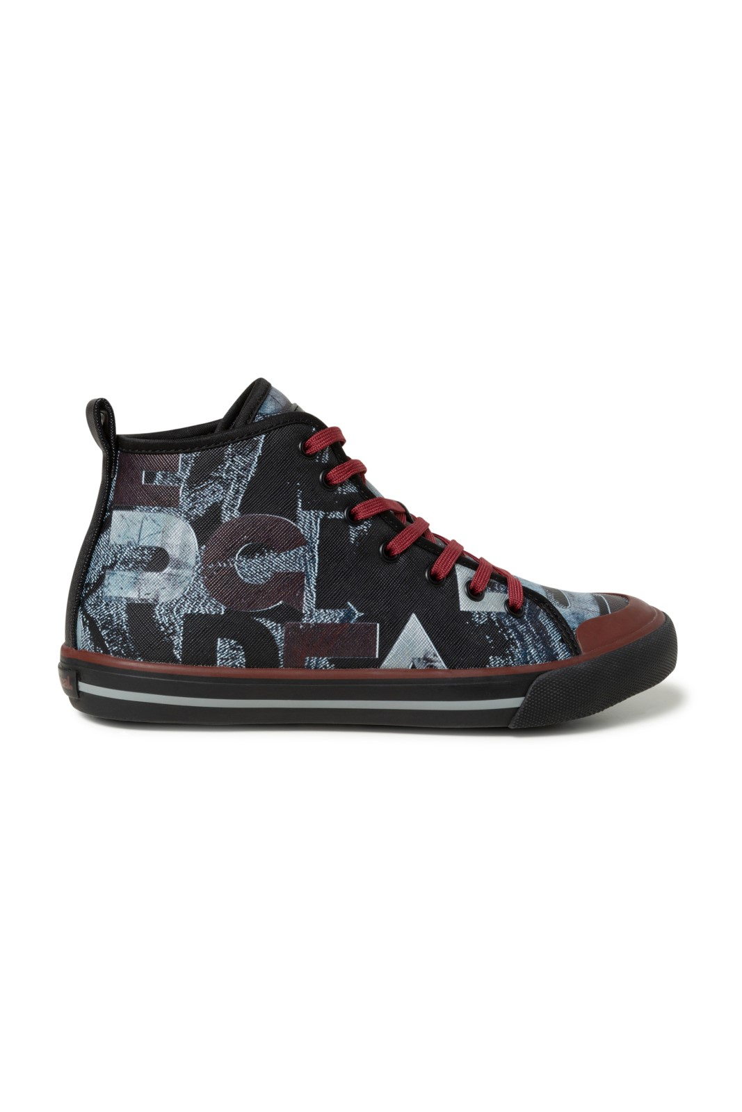 Desigual multicolor ankle high sneakers Shoes Sneaker High Desigual