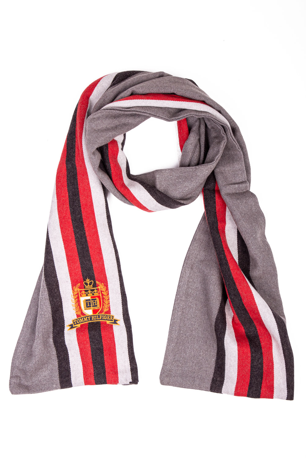 Tommy Hilfiger multicolor men scarf TH College Scarf