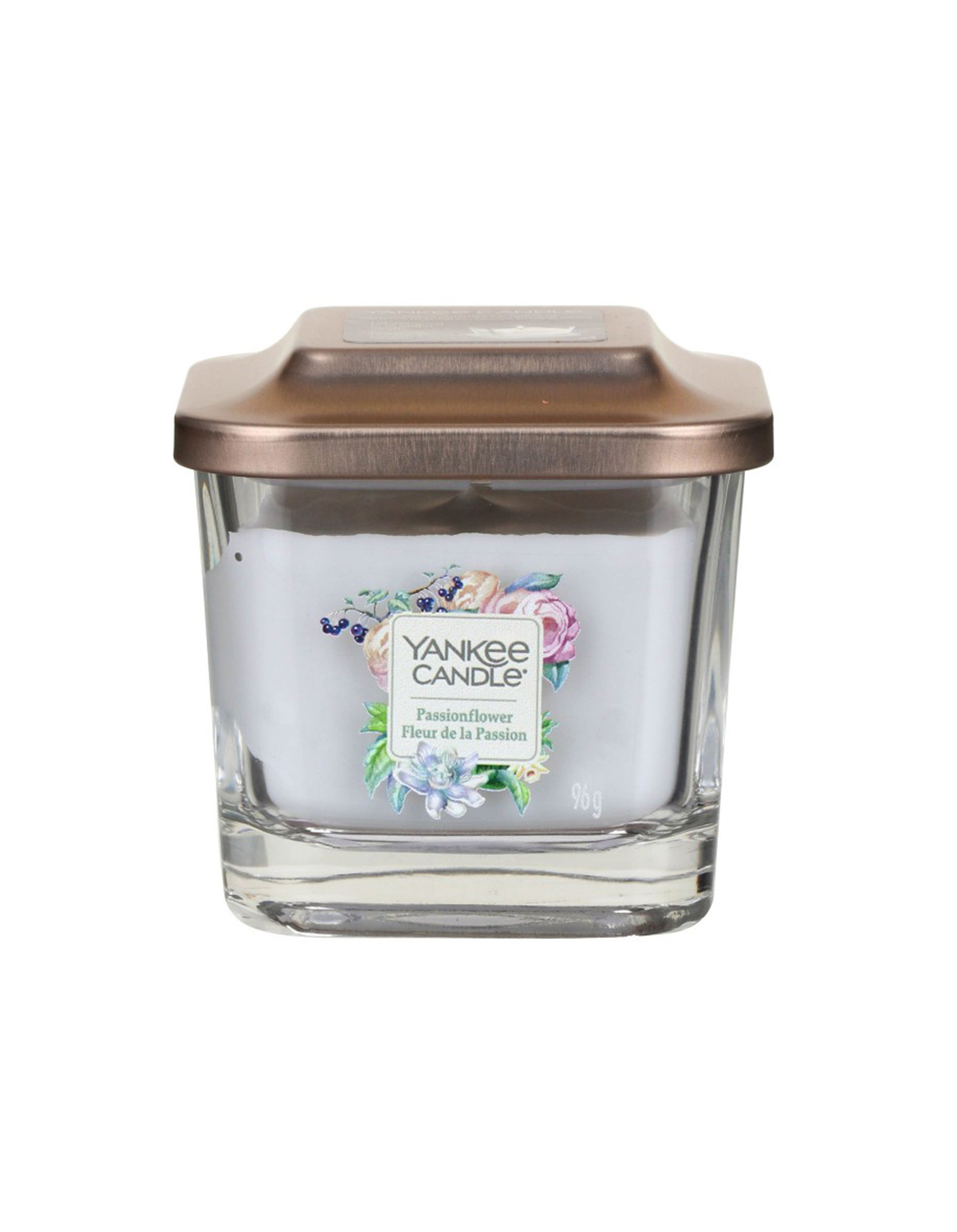 Yankee Candle fragrant candle Elevation Passionflower small square 1 wick