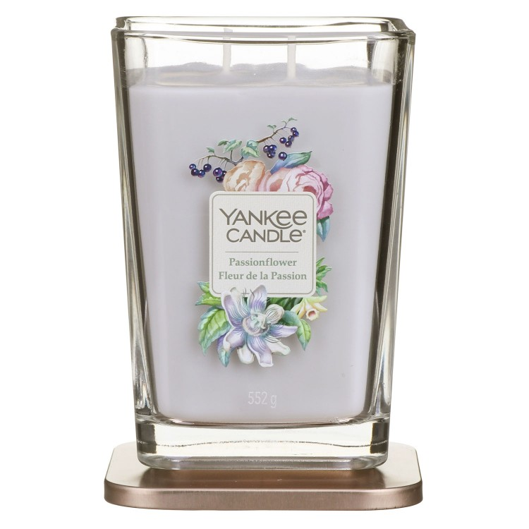 Yankee Candle fragrant candle Elevation Passionflower large square 2 wicks