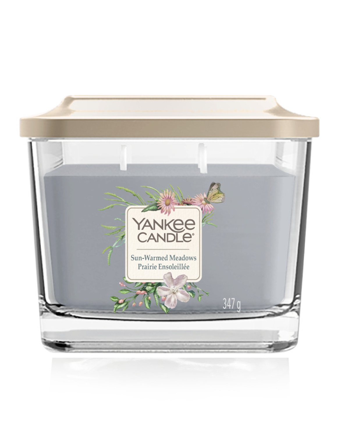 Yankee Candle fragrant candle Elevation sun-warmed meadows medium square 3 wicks