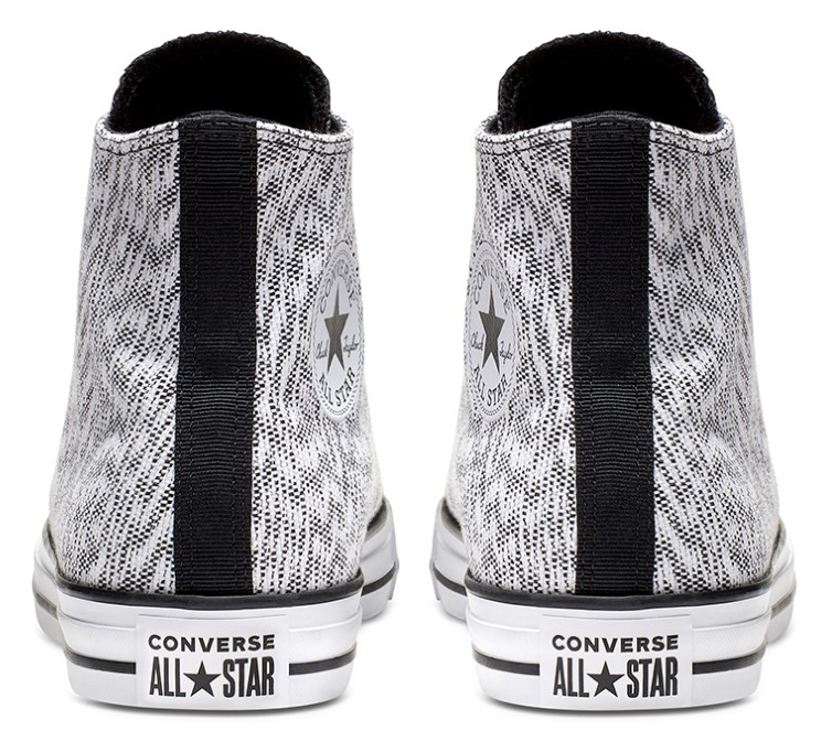 Converse white men´s sneakers Chuck Taylor All Star Hi Black/White