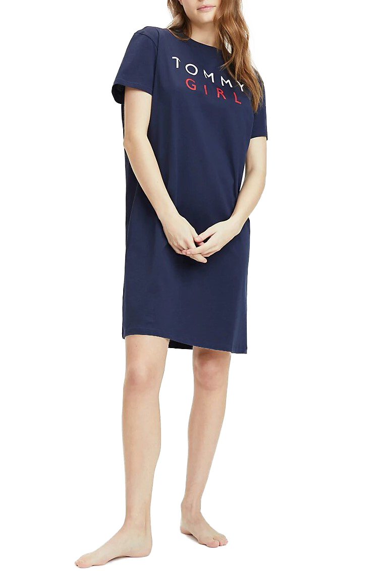 Tommy Hilfiger blue home dress Navy with logo