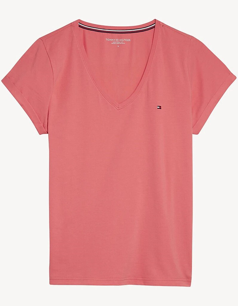 Tommy Hilfiger salmon T-shirt VN TEE SS