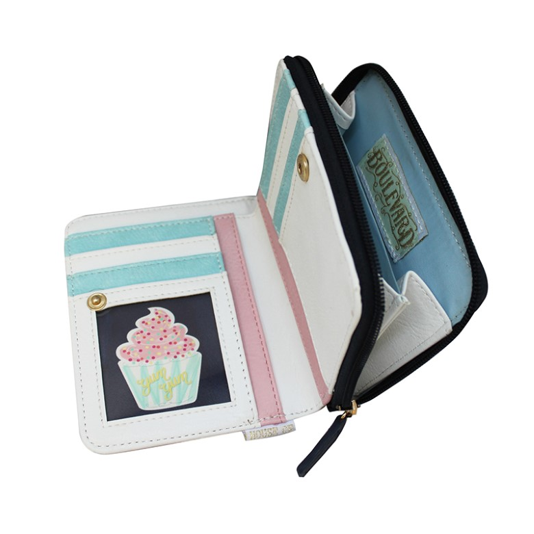 Disaster multicolor wallet Boulevard Patisserie