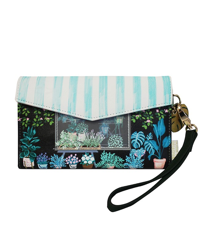 Disaster multicolor wallet Boulevard Florist