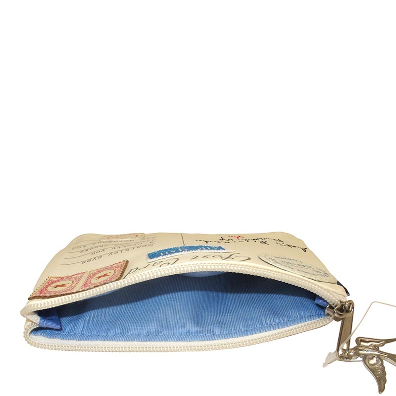 Disaster beige cosmetic bag Paper Plane Make Up