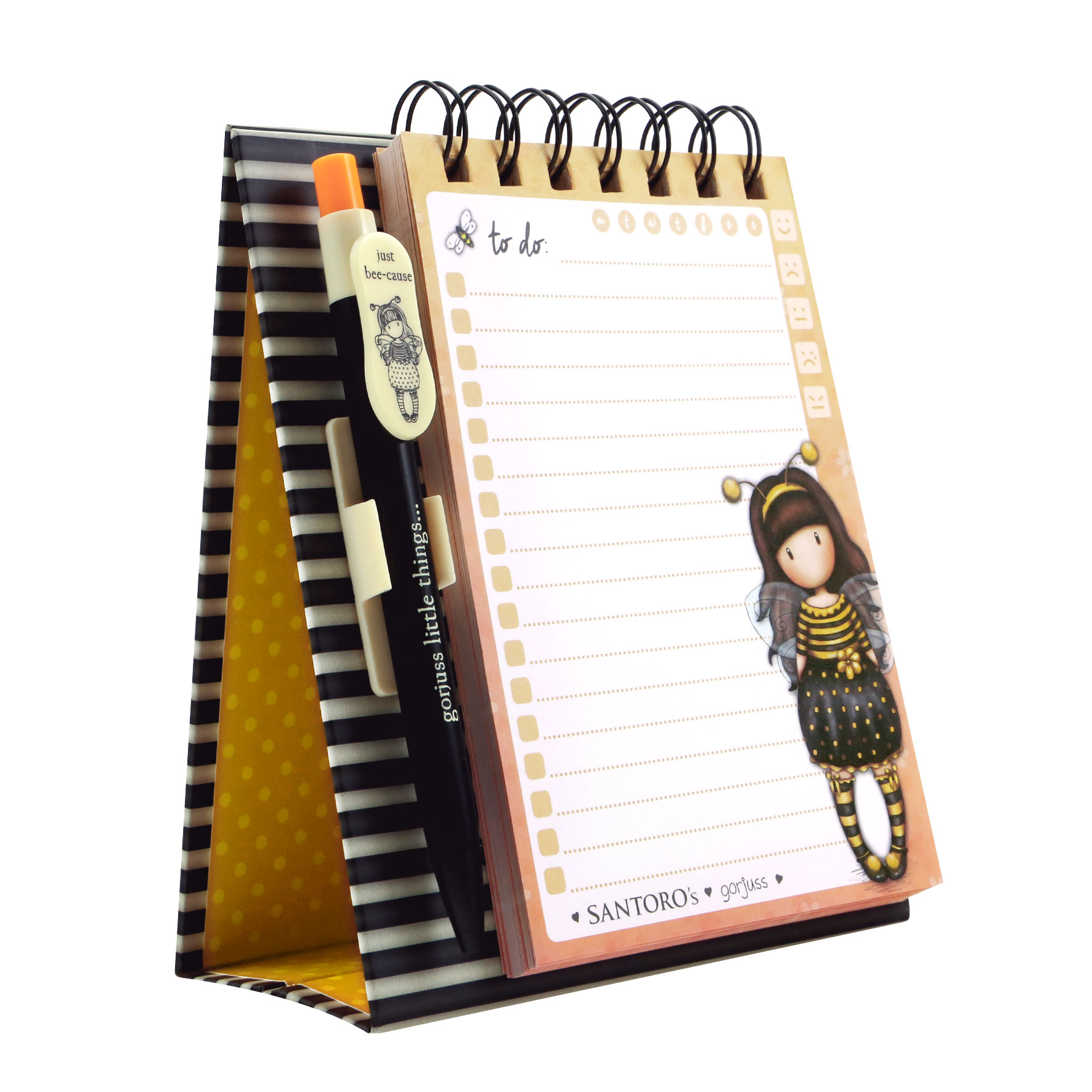 Santoro writing set Gorjuss Bee-Loved (Just Bee-Cause)