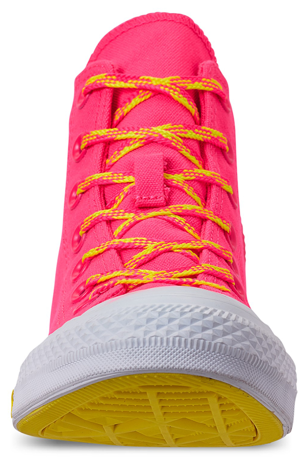 Converse pink sneakers Chuck Taylor All Star Hi Racer Pink/Fresh Yellow