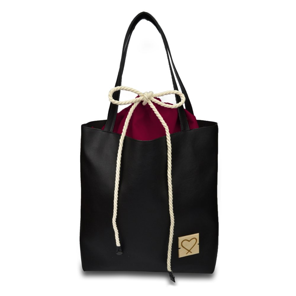 black multifunctional handbag Redwine Forever