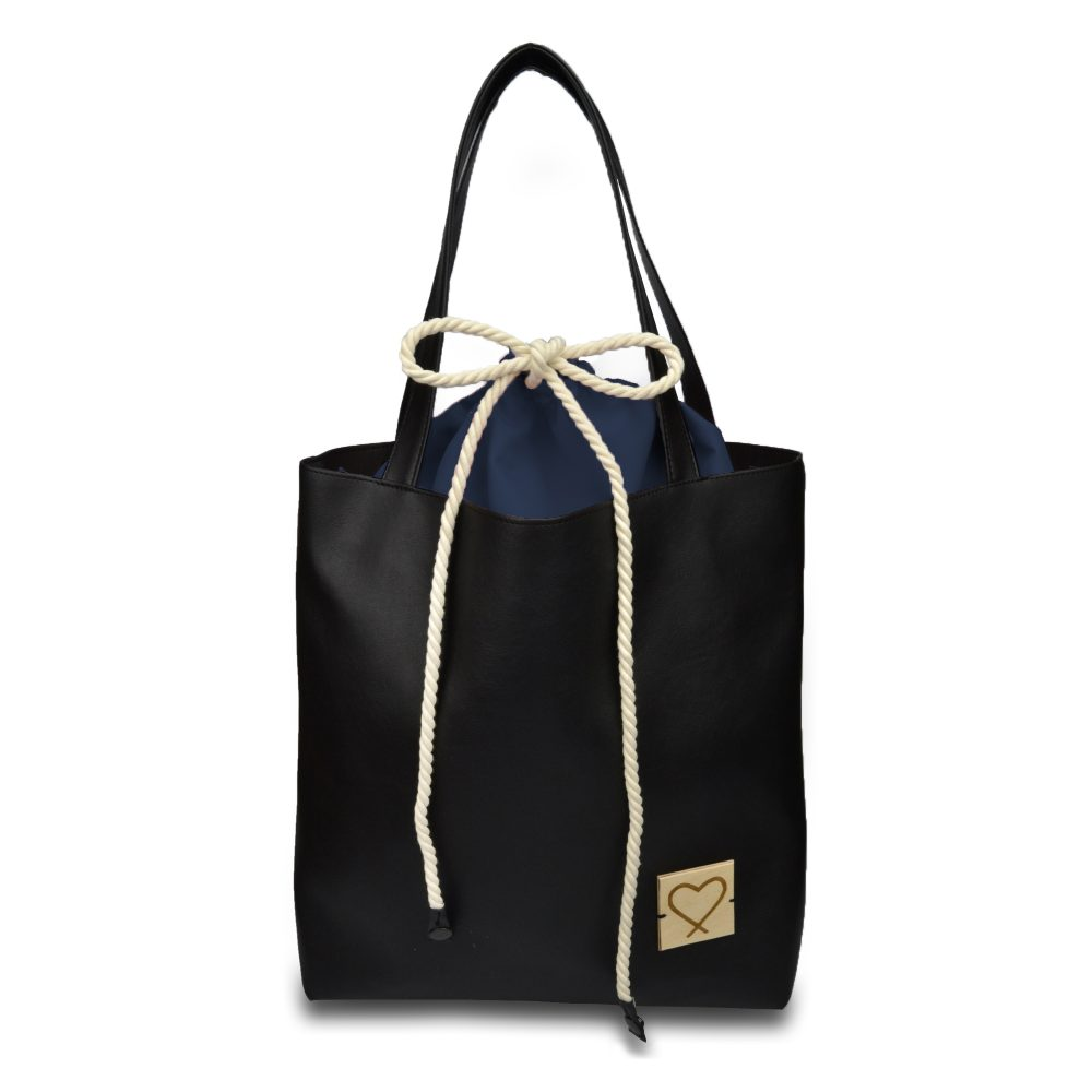 black multifunctional handbag Dark Night