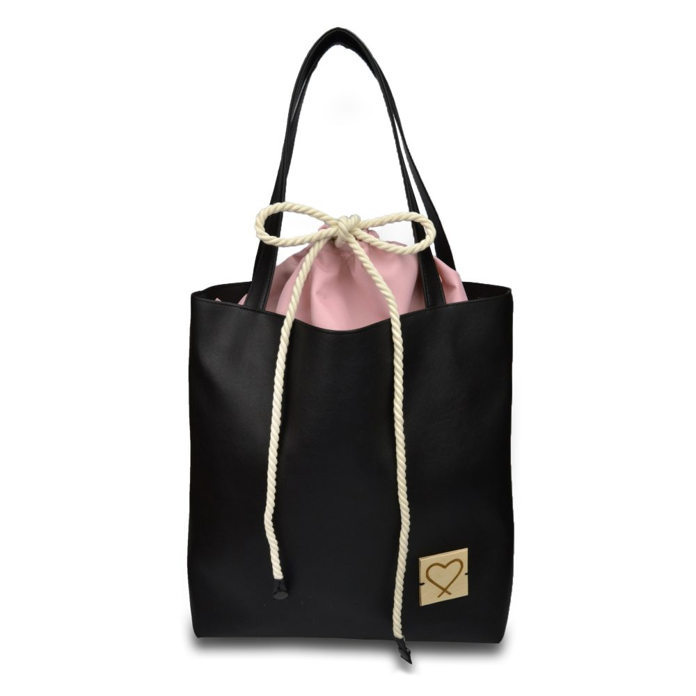 black multifunctional handbag Sweet Crash