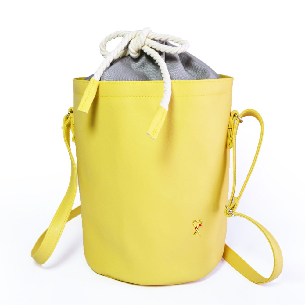 yellow handbag Mini Sunshine