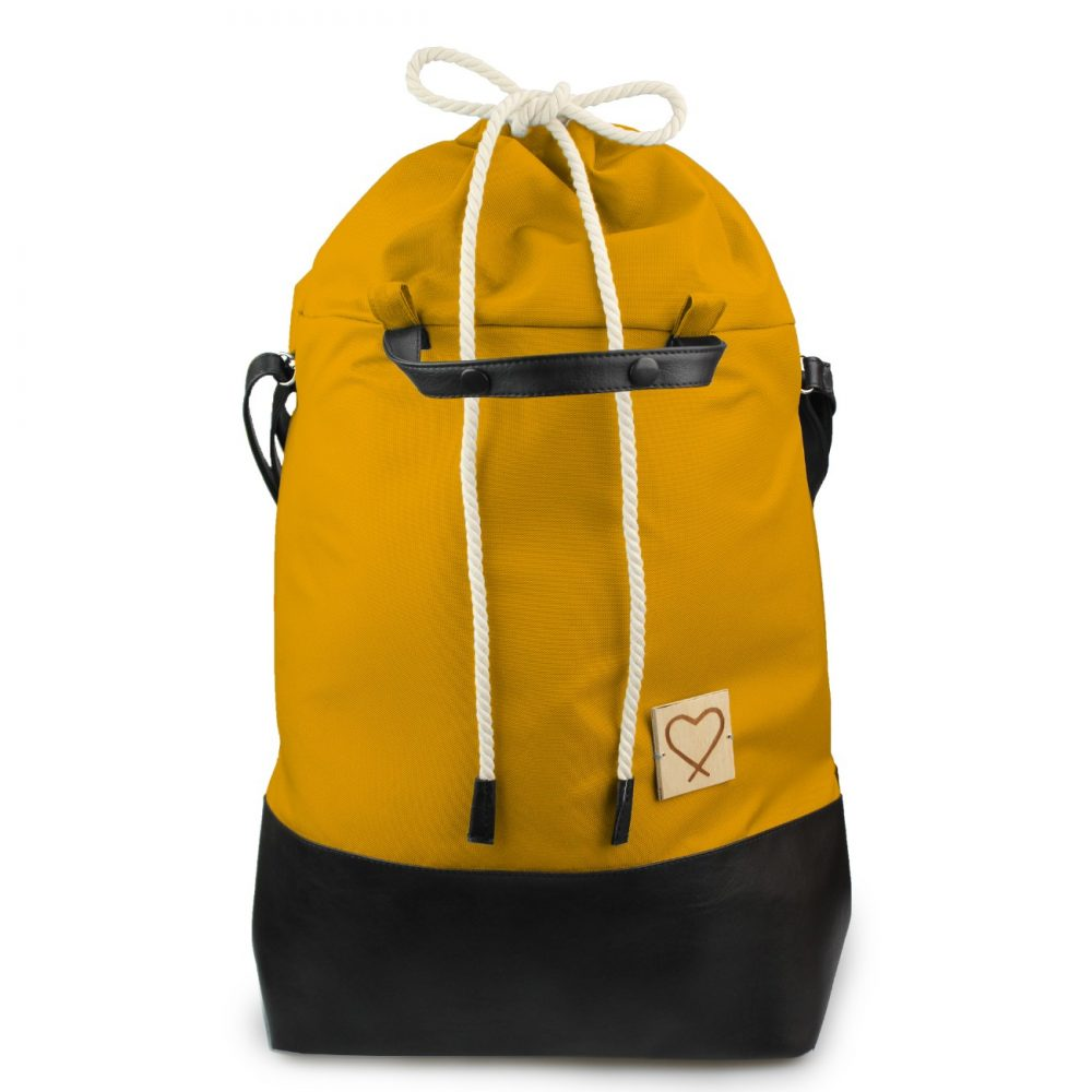 yellow multifunctional travel bag backpack Yellow Traveller