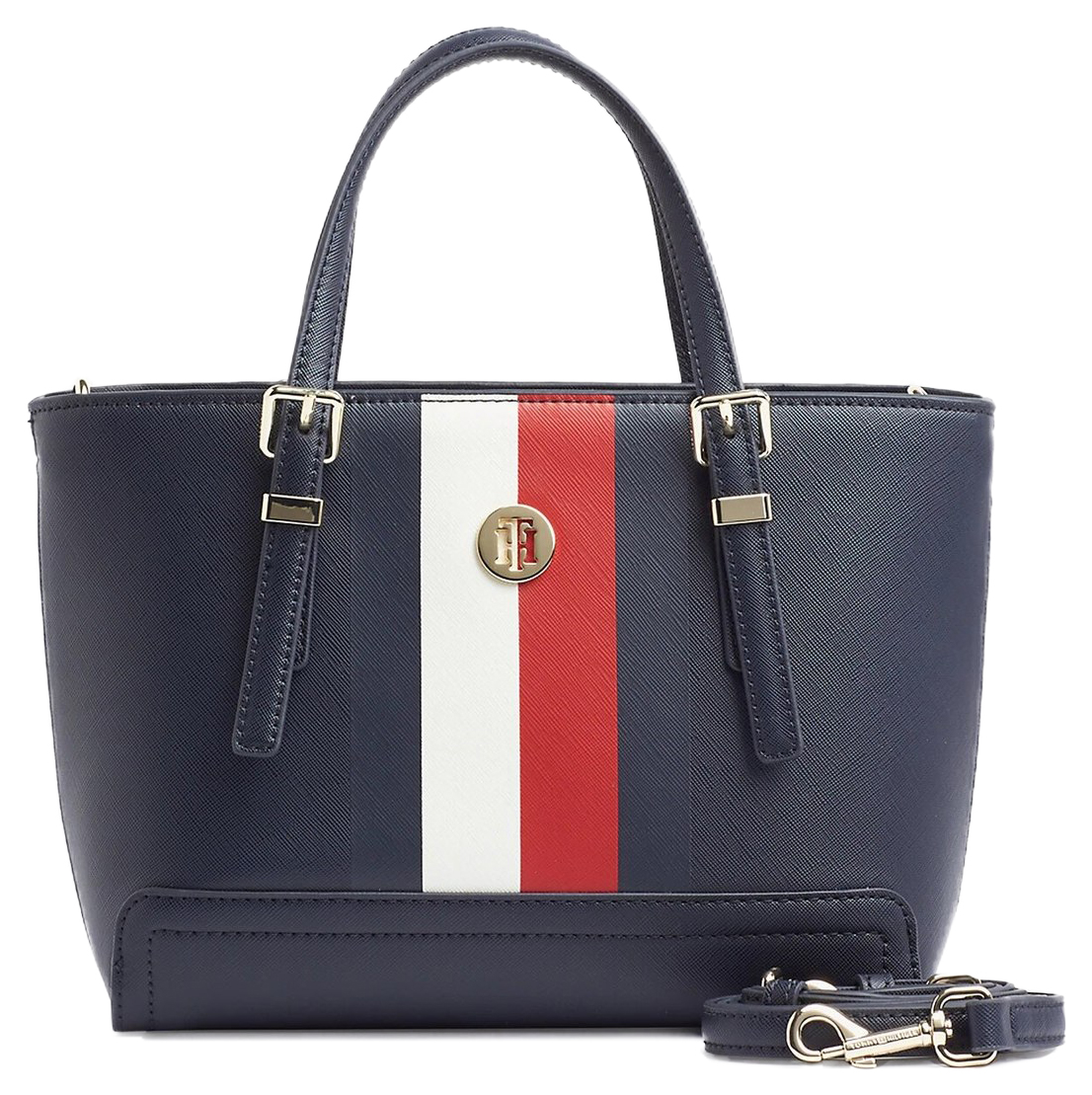 Tommy Hilfiger blue handbag Honey Small Tote Corp Corporate