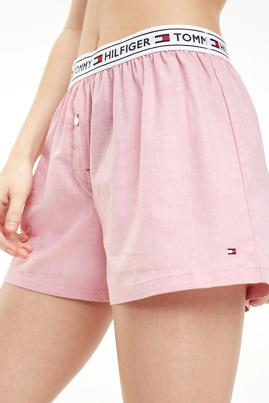 Tommy Hilfiger pink women´s household shorts Woven Short