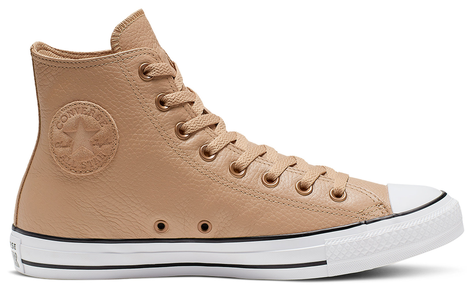 Converse beige leather sneakers Chuck Taylor All Star