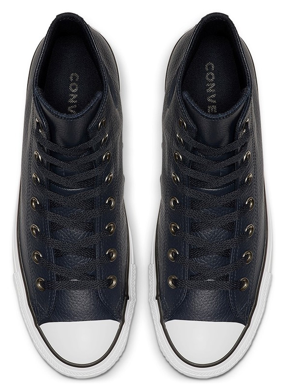 Converse black leather sneakers Chuck Taylor All Star