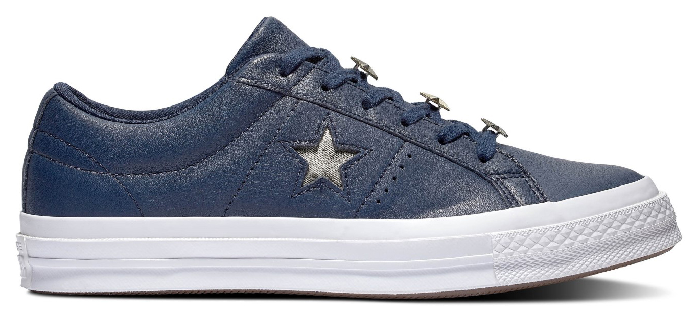 Converse blue leather sneakers One Star