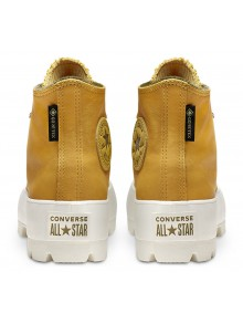 Converse yellow leather sneakers Chuck