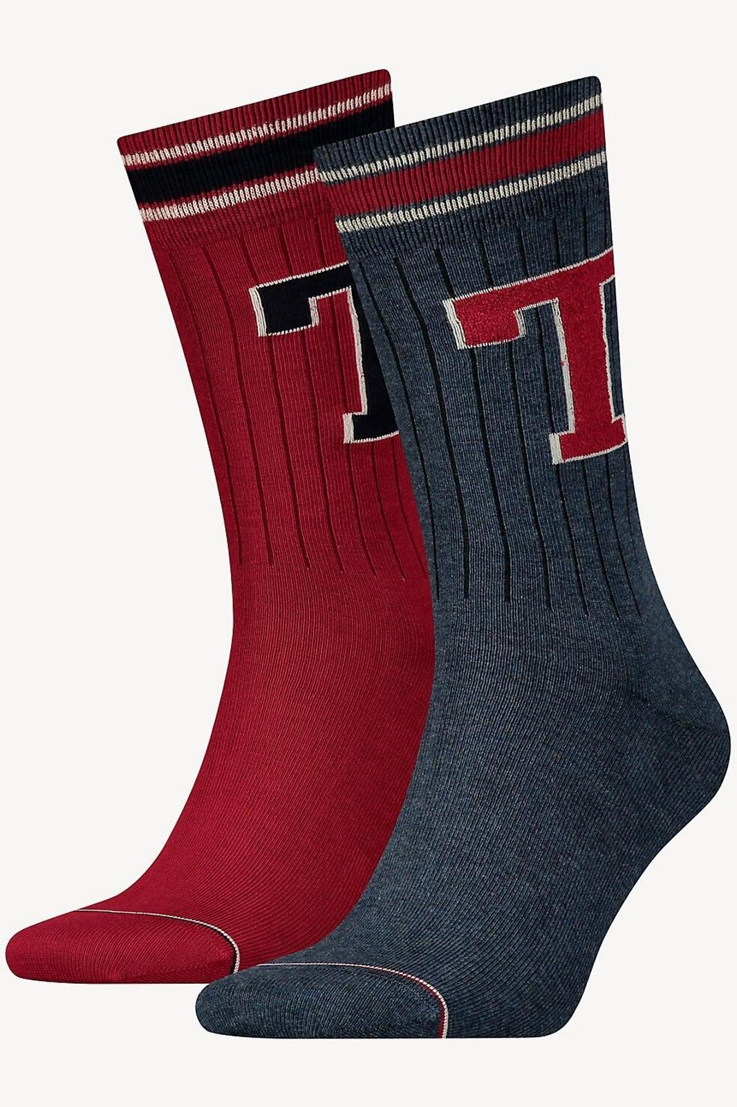 Tommy Hilfiger 2 pack socks TH Men TH Patch Sock 2P