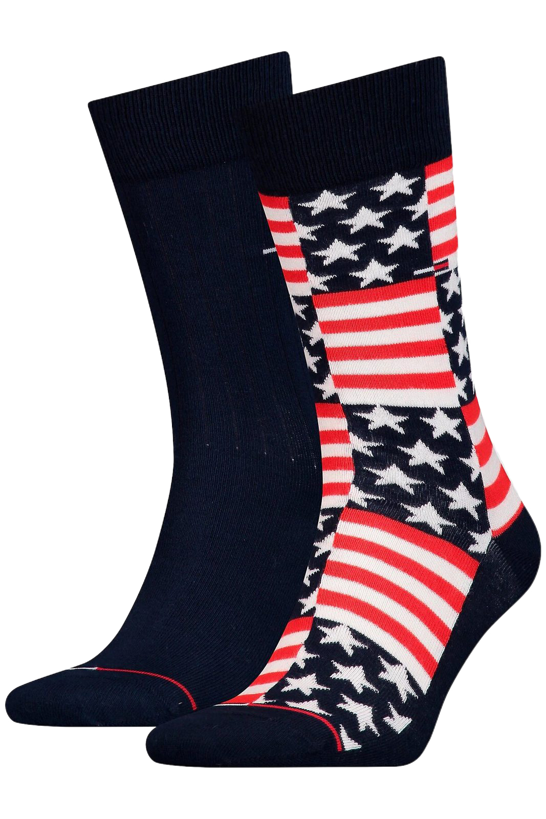 Tommy Hilfiger 2 pack socks TH Jeans Sock 2P American Flag